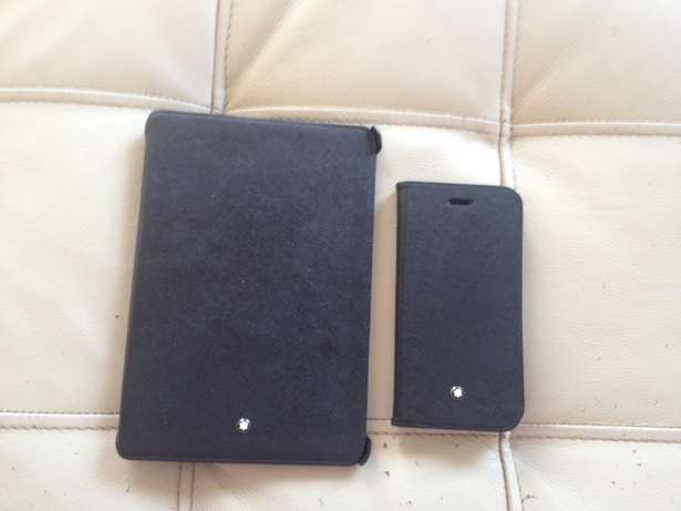 Mont Blanc IPadmini 2 and iPhone 6 or 6s hard covers for sale Bruma - image 1
