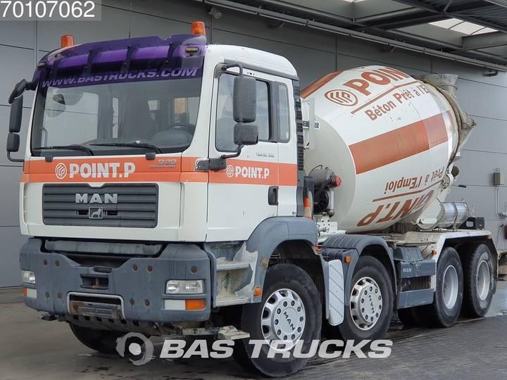 MAN TGA 32.350 M 8X4 Big-Axle SteelSuspension - 2006