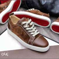 Christian louboutin Brown sneakers