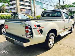 Toyota Hilux Single Cab KCN number . 2010 model Bank finance n hire