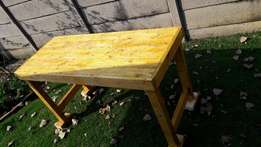 table wood use for braai or in workshop qty 2