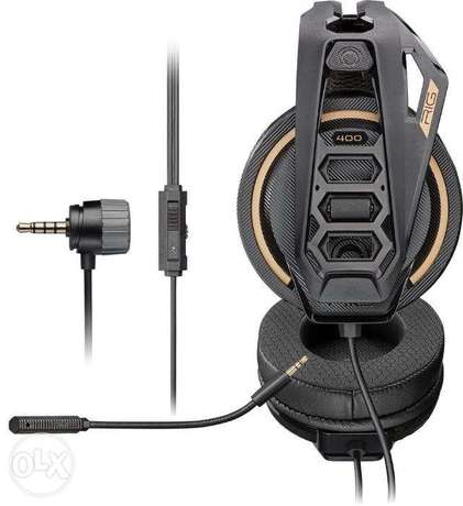 Plantronics Gaming Headset RIG 400 PRO HC special ps4 and pc, xbox