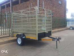Single Acle Cattle Trailer for sale brand new. Papers & Veridot incl.