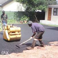 potholes tar paving