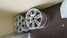 4 X BMW 17 Inch wide and narrow rims