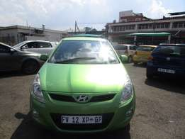 Finance available for 2011 Hyundai i20 1.6 Auto,green in color, 4doors