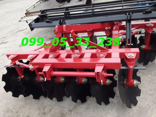 Борона ДИСКОВАЯ для трактора 2.1-2.4-2.5 метра захвата для ЮМЗ, МТЗ Днепр - изображение 2