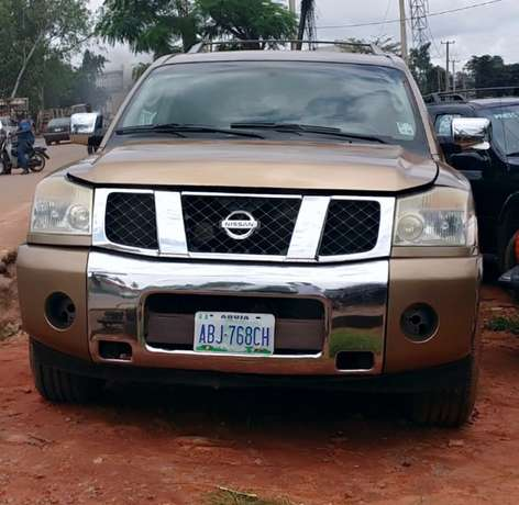 EXCELLENTLY Neat, First Body, Factory Fitted Chilling Ac Nissan Armada Onitsha North - image 1