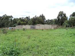 Fully Fenced Quarter Acre on Sale in Sigona - Kikuyu