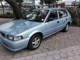 2002 Toyota tazz 1.3 for 12999
