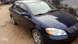 super clean american spec tokunbo corolla 2004 model for 1.65m