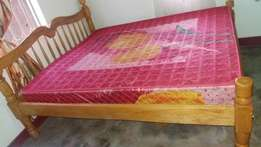 6x6 spring mattress and bed