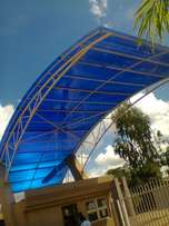 Outdoors roofing .polycarbonates.