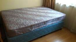Double bed and Base for sale