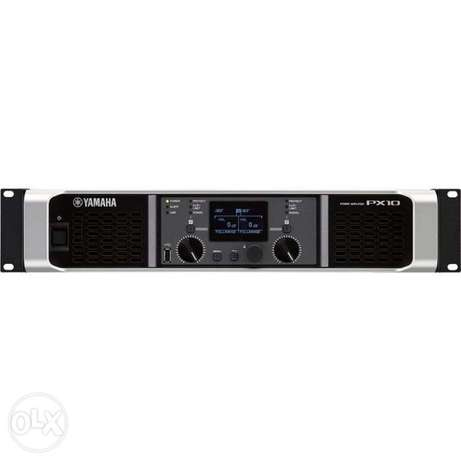 Yamaha PX10 Power Amplifiers امبليفير ياماها