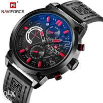 NAVIFORCE Men's Watch 30M Waterproof With Chronograph calendar
