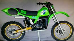 Kx 125 '83 spares wanted