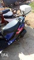 Honda zx Dio with registered number plate and card at 1.2m