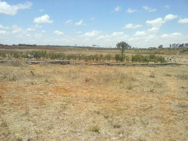 50 by 100 plots at 400,000 around Juja Farm Area Kalimoni - image 2