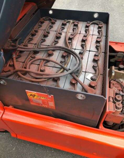 Linde E18P-02 Elektro - Vollfreihub-Seitenschieber - 2006 - image 11