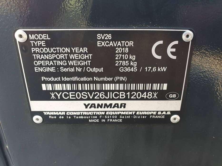 Yanmar Sv 26 - 2018 for sale | Tradus