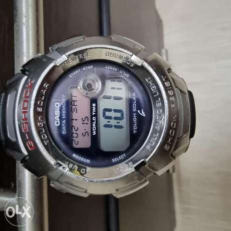 G shock solar power