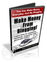How To Make Money From Blogging Video Tutorial(DVD)