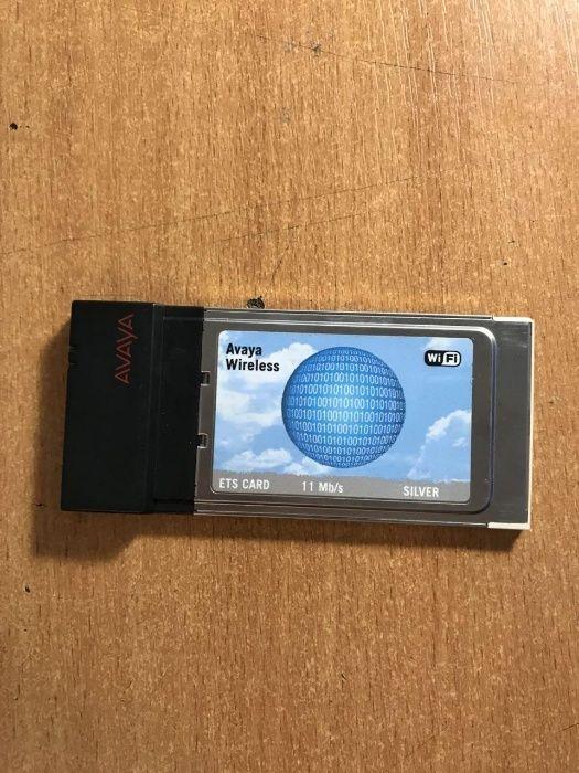AVAYA WIRELESS PC CARD ETS DRIVERS UPDATE