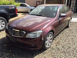 Just Arrived Maroon Color Mercedes C200 kompresor