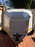 Challenger 6ft Trailer with Bicycle Rack