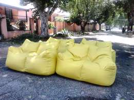 Double seater bean bags with a low price R899each