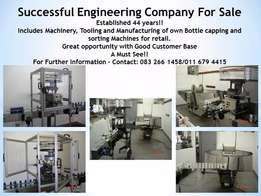 For Sale : Successful Engineering Company