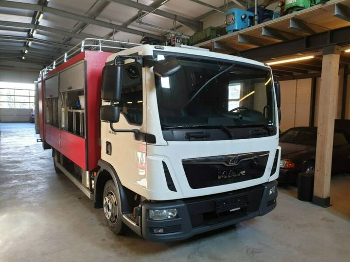 MAN TGL 8.180 Versorgungswagen, Euro 6, LBW - 2015