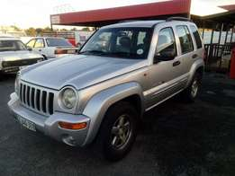Jeep Cherokee 3.7 automatic 2003 on month end special sale R59500