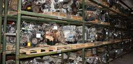 Car Engines, Car Parts & Transmission boxes Available