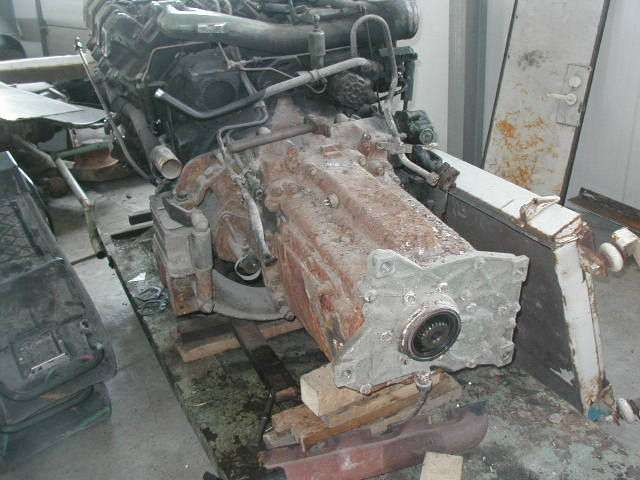 Zf-8 S180 Gearbox For Bus - 2001