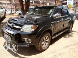Toyota Hilux Double Cab 2008 Asking Price 2,400,000/= Quick Sale!!