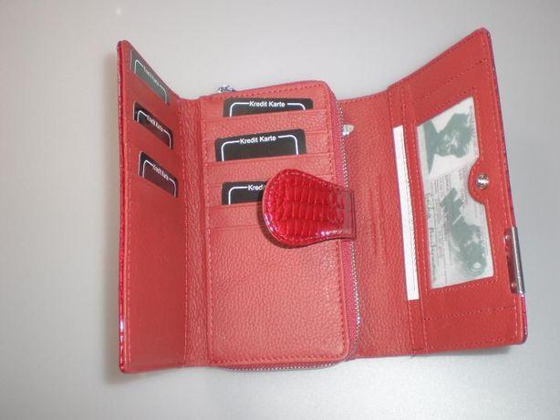 f23b509be1681 Damski portfel portfele ze skóry lakierowanej Jennifer Jones 5261-2 Pleszew  - image 4