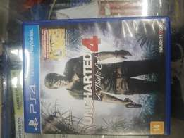 Uncharted 4 play station 4 game