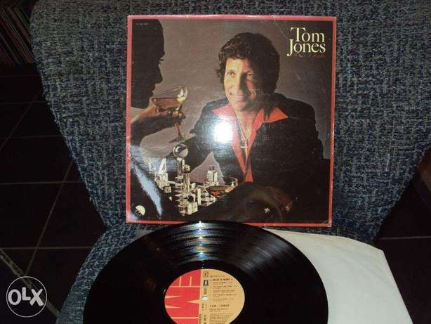 tom jones what a night vinyl lp