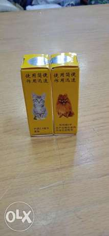 Anti bugs for dogs and cats