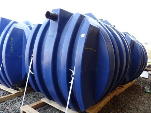 Trailer wavin pvc rainwater cistern tanker  for sale by auction