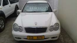 2001 Mercedes c180 for sale!