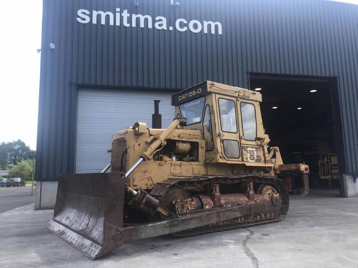 Caterpillar D 6 D XL W RIPPER • SMITMA - 1983