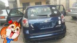 clean newly cleared non accidental Toyota matrix 2005