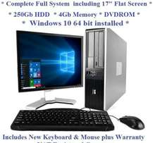 Hp core i5 desktop complete with screen available at 24500 FLASH SALE!