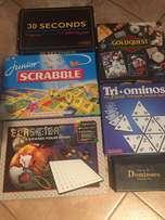Variety of Board Games