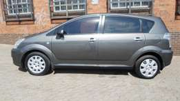 2006 model toyota verso 1.6,grey,95 000km,for sale