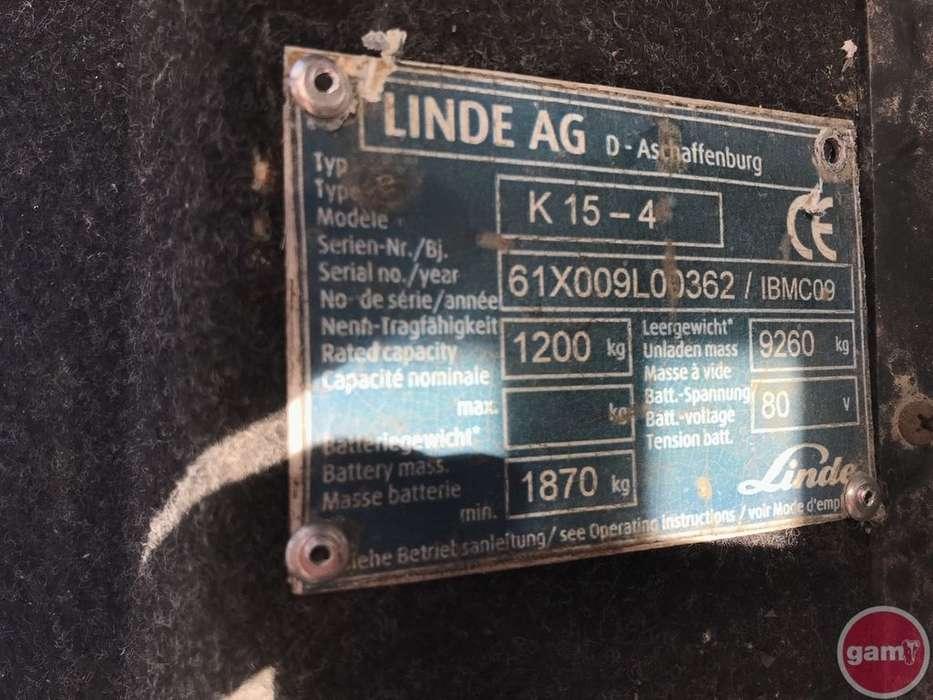 Linde K15-4 - 2000 - image 9