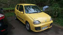 Limited Edition Fiat Seicento Sporting 1.1 2002 Swop /Trade